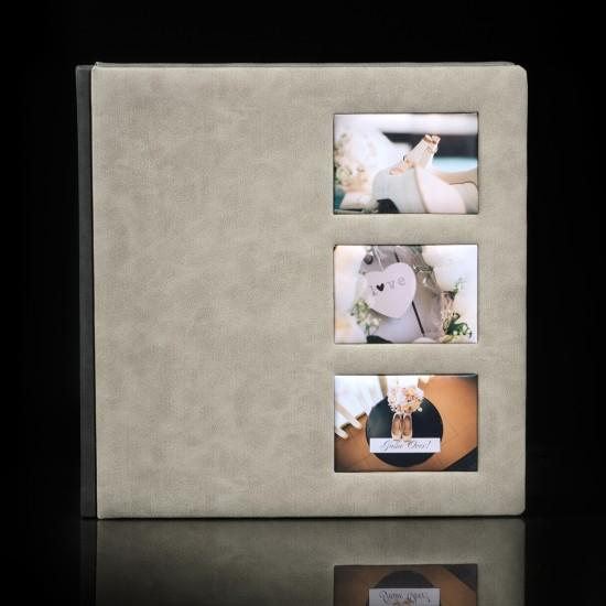 Кожена корица с три снимки ФБ-02