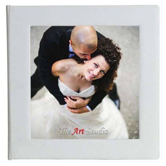 Снимка в центъра на корицата и кожен гръб ФБ-08