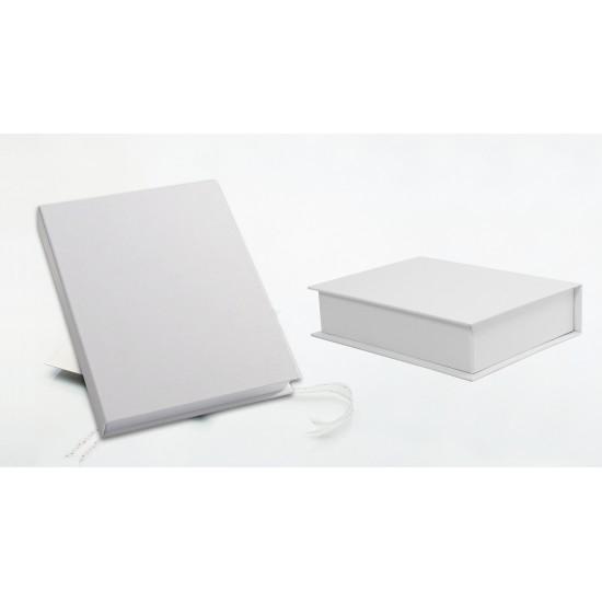 10 снимки 15х20 см в бяло паспарту с луксозна бяла кутия ФБ-42